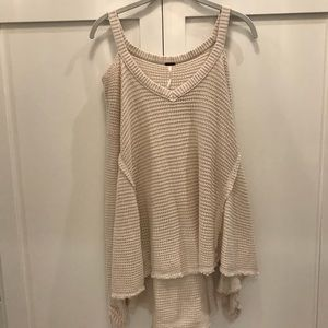 Free People Cold Shoulder Sweater